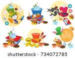Alice In Wonderland Characters...