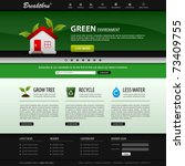 web design website elements... | Shutterstock .eps vector #73409755