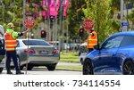 melbourne  victoria australia... | Shutterstock . vector #734114554