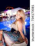 odessa  ukraine august 30  2014 ... | Shutterstock . vector #734173081