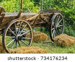 An Old Horse Trailer
