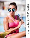 odessa  ukraine august 30  2014 ... | Shutterstock . vector #734176909
