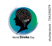 world stroke day poster