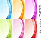 illustration of set of colorful ... | Shutterstock .eps vector #73419496