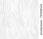 seamless wooden pattern. wood... | Shutterstock .eps vector #734208124