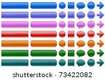 shiny web buttons in various...   Shutterstock . vector #73422082