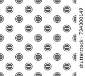 minus pattern seamless. repeat... | Shutterstock . vector #734300149
