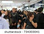 bangkok  thailand   september 8 ... | Shutterstock . vector #734303041