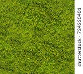 background of green grass.... | Shutterstock . vector #734330401