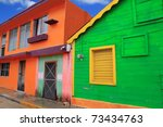 Colorful Caribbean Houses...
