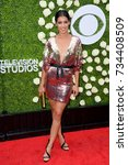 Small photo of LOS ANGELES, CA - August 01, 2017: Stephanie Sigman at CBS TV's Summer Soiree at CBS TV Studios