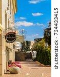belgorod  russia   september 29 ...   Shutterstock . vector #734433415
