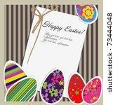 easter card | Shutterstock .eps vector #73444048