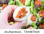 Leaf Wraps And Rice   Ssambap