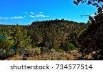 Small photo of Bessie's Bend - Deschutes River Canyon - near Terrebonne, OR - Bessie Butte in center.