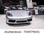 frankfurt  germany  september... | Shutterstock . vector #734579641