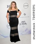 kelly clarkson at the variety's ... | Shutterstock . vector #734593591