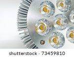High Power Led Light Bulb On A...