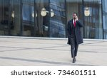 full length image of african... | Shutterstock . vector #734601511