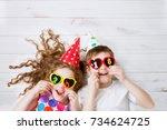 Cute Children With Sunglasses ...
