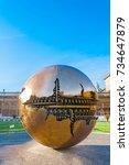 vatican  vatican city   april 6 ... | Shutterstock . vector #734647879