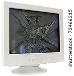 Broken Crt Computer Monitor...