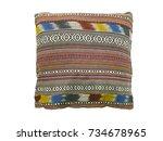 Soft Colorful Stripes Pillow ...