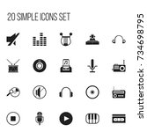 set of 20 editable multimedia...