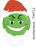 Smiley Type Greench Face