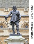 Oliver Cromwell   Statue In...