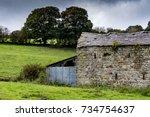 Ruined Barn In A Field