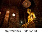 Buddha Statue In The Church Of...