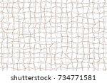 artistic shape strip background ... | Shutterstock .eps vector #734771581