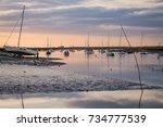 norfolk coast | Shutterstock . vector #734777539