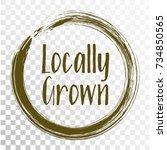 locally grown food icon ...