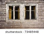 Two Dark Windows In Old Haunte...