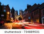 York  Uk. Sundown Of Central...