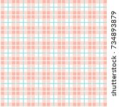 checkered pattern of small... | Shutterstock .eps vector #734893879