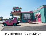 kingman  arizona   june 20 ... | Shutterstock . vector #734922499