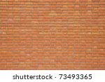 Seamless Red Brick Wall  ...