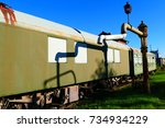 Discarded Railway Cars And A...
