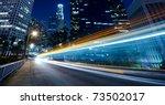 traffic through the city ... | Shutterstock . vector #73502017