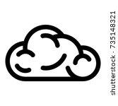 ui cloud icon. simple...