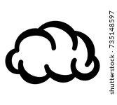 communication cloud icon....