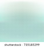 abstract green pastels circle... | Shutterstock .eps vector #735185299
