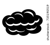 technology cloud icon. simple...