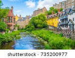 The Scenic Dean Village In A...
