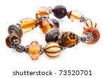 Amber Bracelet With...
