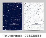 modern vector templates for... | Shutterstock .eps vector #735220855