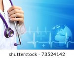 doctor or nurse  with medical